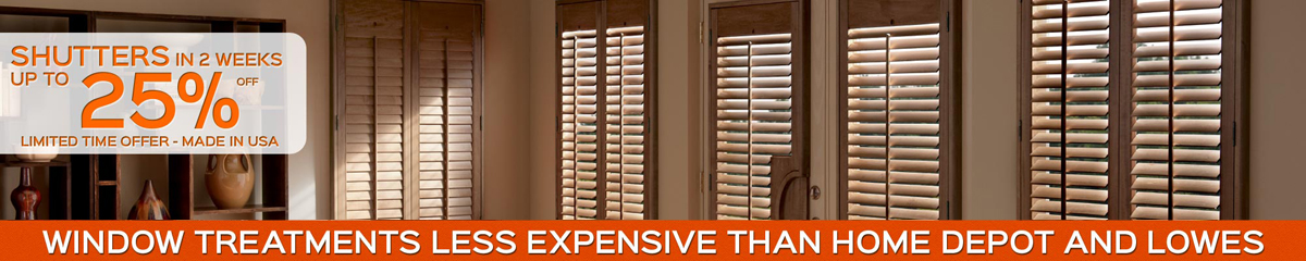 Tampa Plantation Shutters